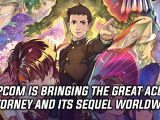 Capcom is bringing The Great Ace Attorney and its sequel worldwide