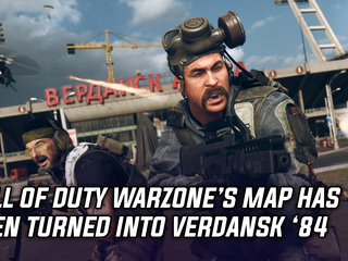 Call of Duty Warzone's map got nuked back to 1984