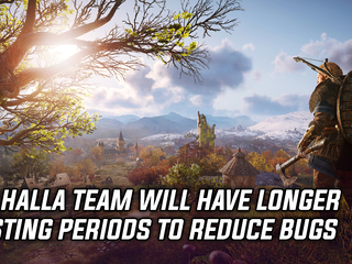 Ubisoft committed to longer testing periods for Valhalla