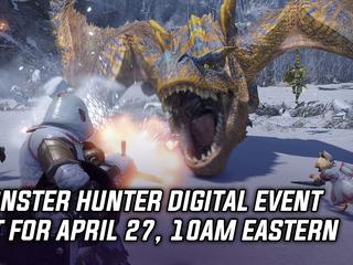 Monster Hunter digital event set for April 27, 10am Eastern