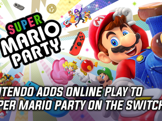 Nintendo adds online play to Super Mario Party on the Switch