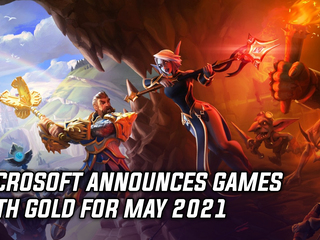 Microsoft announced Games with Gold for May 2021