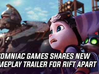Ratchet & Clank Rift Apart gets new trailer showcasing Rivet