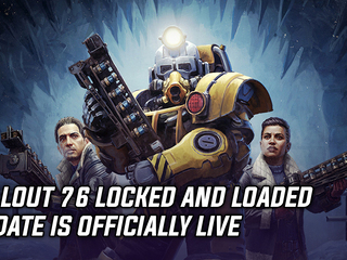 Fallout 76 Locked and Loaded update is officially live