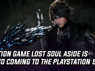 Action game Lost Soul Aside is also coming to the PlayStation 5