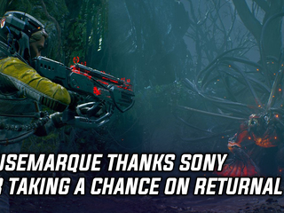 Housemarque thanks Sony for taking a chance on Returnal