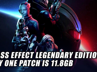 Mass Effect Legendary Edition day one patch bigger than each individual game