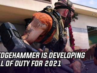 Sledgehammer is developing Call of Duty for 2021