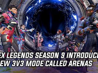 Apex Legends Season 9 introduces a new 3v3 mode called Arenas