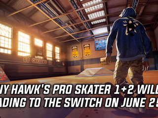 Tony Hawk's Pro Skater 1+2 will be heading to the Switch on June 25