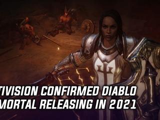 Activision confirmed Diablo Immortal releasing in 2021