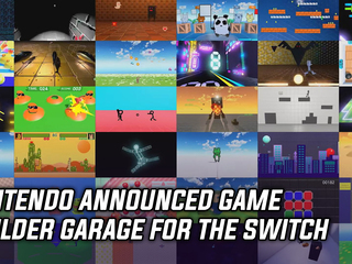 Nintendo announced Game Builder Garage for the Switch
