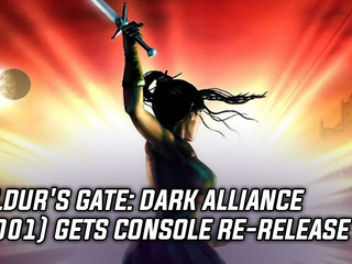 Baldur's Gate: Dark Alliance (2001) gets console re-release