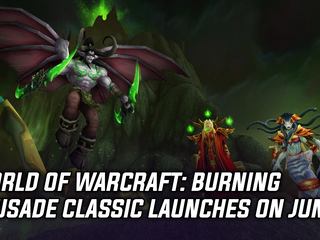 WoW: Burning Crusade Classic will launch on June 1