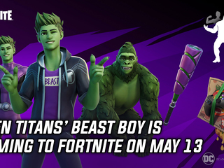 Beast Boy is coming to Fortnite on May 13