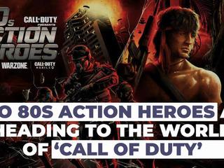 80s Action Heroes John McClane and John Rambo Heading to COD