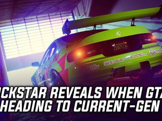 Rockstar Reveals When GTA 5 Is Heading To Current-Gen Consoles