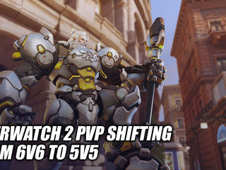 Overwatch 2 PvP Shifting From 6v6 To 5v5