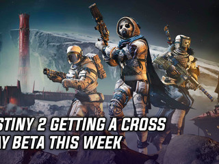 Bungie announced Destiny 2 cross play beta for this week