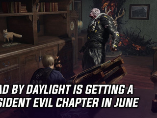 Dead By Daylight is getting a Resident Evil Chapter in June