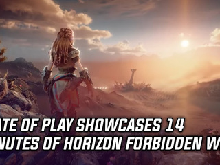 State of Play showcases 14 minutes of Horizon Forbidden West gameplay