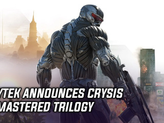 Crytek announces Crysis Remastered trilogy coming this Fall