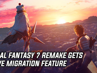 Final Fantasy 7 Remake gets save migration feature