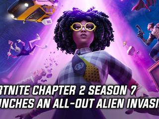 Fortnite Chapter 2 Season 7 kicks off with an alien invasion