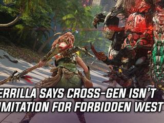 Guerrilla says cross-gen isn't a limitation for Horizon: Forbidden West