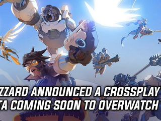 Blizzard announced a crossplay beta coming soon to Overwatch