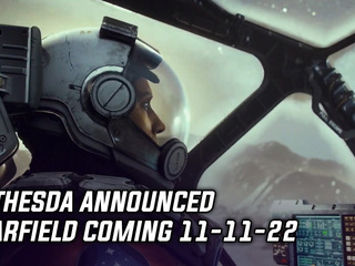 Bethesda announced Starfield coming 11-11-22
