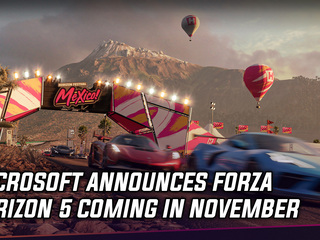 Microsoft announces Forza Horizon 5 coming in November