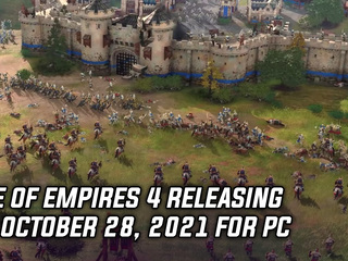 Age of Empires 4 releasing for PC on October 28, 2021