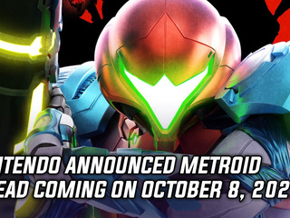 Nintendo announced Metroid Dread coming on October 8, 2021