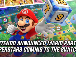 Nintendo announced Mario Party Superstars coming to the Switch
