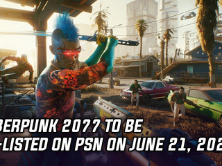 Cyberpunk 2077 is coming back to PSN this month