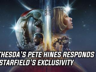 Bethesda's Pete Hines responds to Starfield's exclusivity