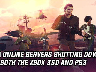 GTA Online servers shutting down on both the Xbox 360 and PS3
