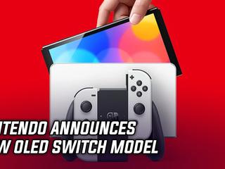 Nintendo announces new OLED Switch Model