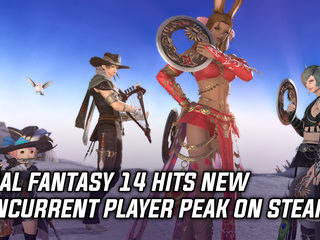 Final Fantasy 14 hits new concurrent player peak on Steam