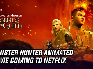 Monster Hunter animated movie coming to Netflix