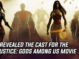 DC revealed the cast for the Injustice: Gods Among Us animated movie