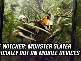 The Witcher: Monster Slayer is officially out on mobile today
