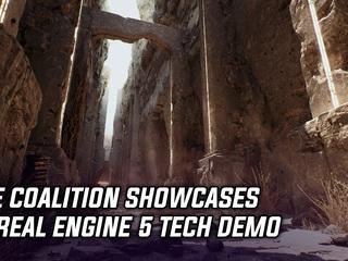 The Coalition showcases impressive Unreal Engine 5 tech demo