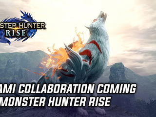 Okami collaboration coming to Monster Hunter Rise