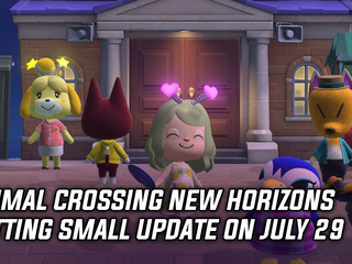 Animal Crossing New Horizons getting small update on July 29