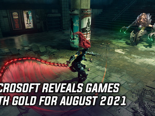 Microsoft reveals Games with Gold for August 2021