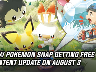 New Pokemon Snap will be getting a free content update on August 3