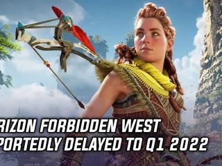 Horizon Forbidden West has been delayed to Q1 2022