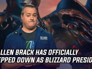 J. Allen Brack has officially stepped down as Blizzard President